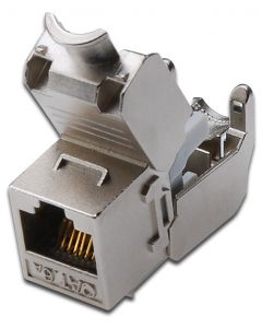CONECTOR DIGITUS AUDIO KEYSTONE CAT6A APANTALLADO REINSCRUSTRADO 500MHZ