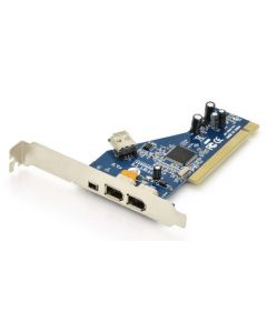 TARJETA EXPANSION DIGITUS PCI FIREWIRE 2X EXTERNO + 1X EXTERNO 1X INTERNO