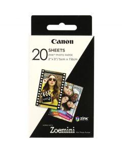 PAPEL CANON ZINK PAPER ZP-2030 20 SHEETS EXP HB