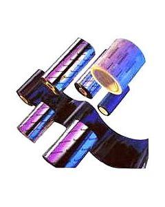RIBBON ZEBRA CERA 110MM X 74 METROS PARA IMPRESROAS GC/GK/GX/ZD (CAJA 12 ROLLOS)