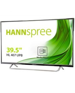 "MONITOR HANNS HL407UPB 40"" IPS 1920x1080 8,5MS USB HDMI ALTAVOCES NEGRO"