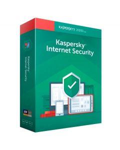 ANTIVIRUS KASPERSKY INTERNET SECURITY RENOVACION 10 DIS. 1AÑO LIC. ELECTRONIC