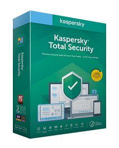 ANTIVIRUS KASPERSKY TOTAL SECURITY RENOVACION 5 DIS. 1AÑO LIC. ELECTRONIC