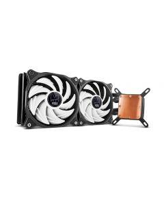 REFRIGERACION LIQUIDA CAJA/CPU NOX HUMMER H240CL 120MM BLANCO