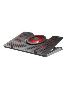 """BASE REFRIGERADORA PARA PORTATIL GENESIS OXID 550 15.6-17.3"""" 1 USB"""